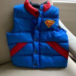 Baby Gap Superman Vest NWT